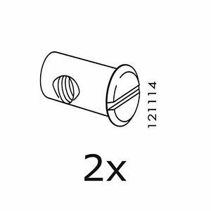 2 IKEA Nuts Part # 121114 Bed Crib Pins Part Sniglar