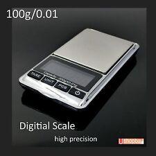 Pocket Digital High Precision Scale 100gm Jewelry 100g/0.01