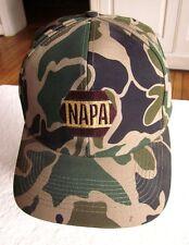 NAPA RACING new baseball hat automotive repair cap auto parts NWT camouflage