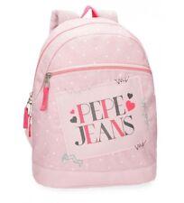Pepe Jeans Olaia mochila tipo casual 32 cm 9.6 Litros(rosa)