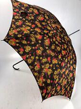Parasol Umbrella Abstract Flower Vintage