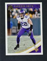 2018 Donruss Football Base #182 Harrison Smith - Minnesota Vikings