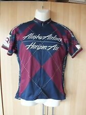 Voler men's 100%polyester multicolor cycling jersey w/open pocket size M
