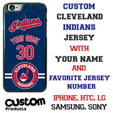 Cleveland Indians Personalize Baseball Jersey Phone Case Cover for iPhone etc.