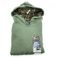 Mossy Oak Camo Men's Hoodie - Military Green - Size Small