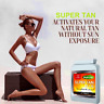 60x SUNLESS TANNING TABLETS- FAST TAN -SELF TANNER- FAKE TAN- TAN ACCELERATOR