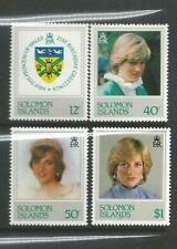 1982 The 21st Anni Diana Birth set of 4 Stamps complete MUH/MNH as per Scan