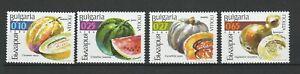 Bulgaria 2002 Fruits 4 MNH stamps