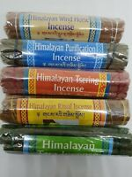 Himalayan Incense Tibetan Incense Sticks from Nepal- set of five, handmade