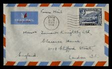Dr Who 1950 Aden Forces Airmail To England f31465
