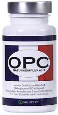 OPC Naturkomplex no.3 – 900mg Procyanidine aus 3 Naturextrakten von VALUELIFE