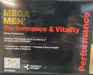 GNC Mega Men Performance & Vitality Vitapak 30 Packs 30-Day supply