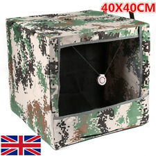Foldable Camo Slingshot Target Box Recycle Hunting Shooting Catapult   *