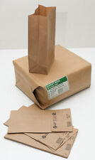 6# KRAFT BAGS 13601 Reusable Recyclable 500 Count Made of 100% Recycled Material