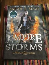 2016 Empire of Storms, Hardcover by Sarah J.Maas Personal Autograph