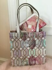Ted Baker Bag And Washbag Set BNWTS Sea Of Clouds Print