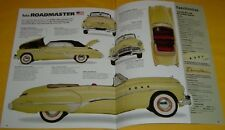1949 Buick Roadmaster Convertible 320 ci Inline 8 Cyl IMP Info/Specs/photo 16x11