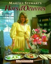 Martha Stewart's Hors d'Oeuvres 1984 1st ed HC cookbook! Finger-food party menus