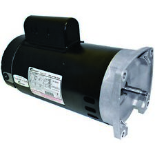 3 hp Single Speed Square-Flange Full Rate Motor - B2844 New