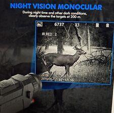 Nv0535 Night Vision 5X Optical 8X Digital Zoom Infrared Digital Video Camera