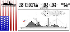 """FLAGSHIP MODELS 1/192 Scale USS Choctaw (15.5"""" long, detail set incl.)"""