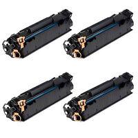 4PK CE285A Toner Cartridge Fits HP Laserjet P1102 P1102W M1212nf M1132