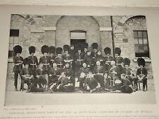 1896 1ST BATT COLDSTREAM GUARDS INSPECTION AT DUBLIN