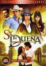 Soy Tu Duena [4 Discs] (2011, DVD NUEVO) SPA LNG4 DISC SET (REGION 1)