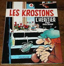 Deliège - Les Krostons 4 - Dupuis - EO TTBE