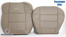 2001 Ford F150 Lariat SuperCrew-Passenger Side Complete Leather Seat Covers Tan