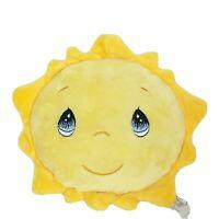 "Precious Moments Yellow Smiling Sun Plush Stuffed Animal 8.5"""