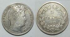 1 Franc Argent Louis Philippe 1838 B ( 001 )