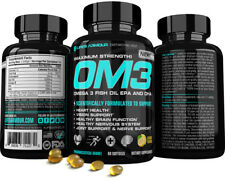 Best Omega 3 Fish Oil EPA & DHA 2000mg High Potency OM3™ by Life's Armour™
