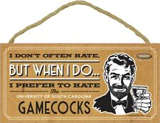Anti South Carolina Gamecocks College Football Smack Rival Funny Wood Plaque Usa