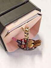 JUICY COUTURE Picnic Basket Charm Wine Bread Strawberry Cheese YJRU0921 New