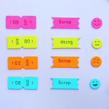 Imitation Leather Month Sticker Bookmark Sticky Markers Memo Tab Divider SetTool