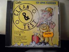 CD - REINIGUNGS CD - LENS CLEANER - CLEAN & TEST