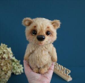 Teddybär bär Teddy Deko  Künstlerteddy Unikat Handarbeit 20 cm NEU