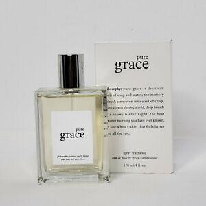 New Philosophy Pure Grace Eau De Toilette Spray Perfume Large 4 fl.oz/120 ml