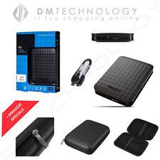 HARD DISK ESTERNO 2TB 2,5 MAXTOR AUTOALIMENTATO USB 3.0 HX-M201TCB CON CUSTODIA