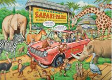 Ravensburger WHAT IF? No 13 Safari Park 1000 piece Jigsaw Puzzle
