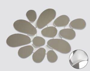 FLORAL Decorative Mirror -  8pcs / 12pcs / 13pcs Home Decor BLACK / WHITE NEW