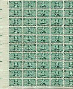 1948 3 cent Juliette Low Girl Scouts full Sheet of 50, Scott #974, Mint NH
