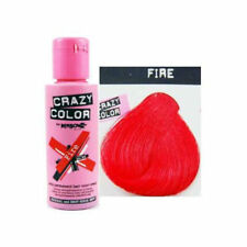 Crazy Colour-fire Semi Permanente Tinte Pelo Rojo no56