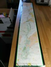Appalachian Trail Wall Map by US National Park Service