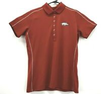 Nike Golf Tour Performance Women's Medium Dri-Fit Arkansas Razorbacks Polo Shirt