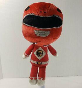 "Funko Mighty Morphin 8"" Power Rangers Red Ranger Plush Stuffed Animal Toy MMPR"