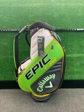 Callaway Epic Flash Tour Staff Golf Bag Green/White/Yellow/Charco al
