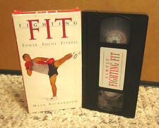 MARK RICHARDSON fitness Fighting Fit kick-boxing work-out VHS combat exercise