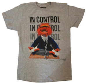 """Muppets Animal """"In Control"""" Men's Fashion T-Shirt NEW"""